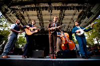 Punch Brothers at Runsey Playfield at Central Park Summer Stage 9.26.11